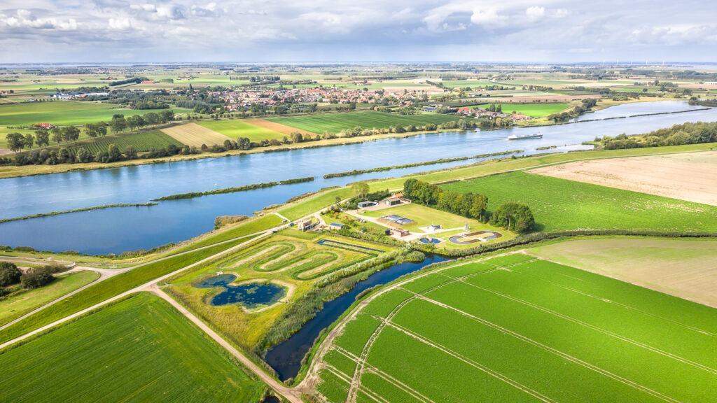 Luchtfoto Zeeland